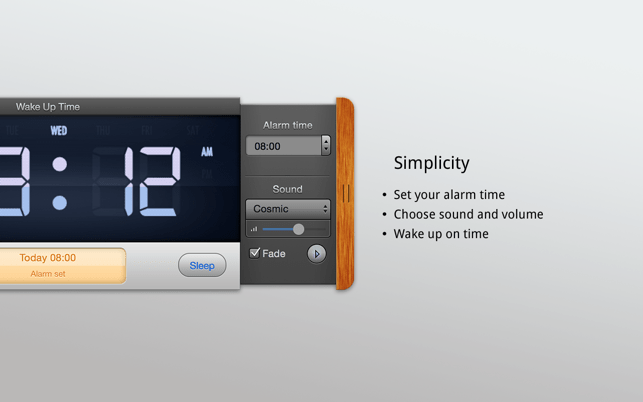 Alarm Clock On The Mac