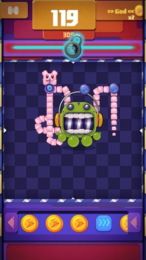 Crawling Worm - Endless Challenge Screenshot