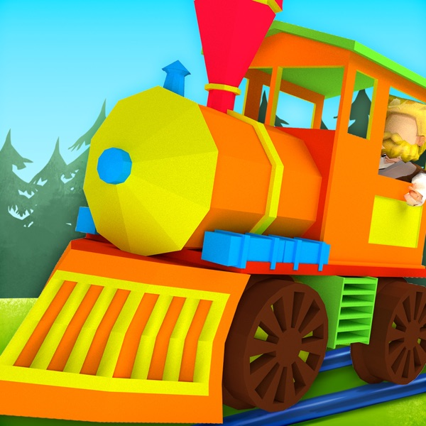 3D Toy Train - Free Kids Train Game