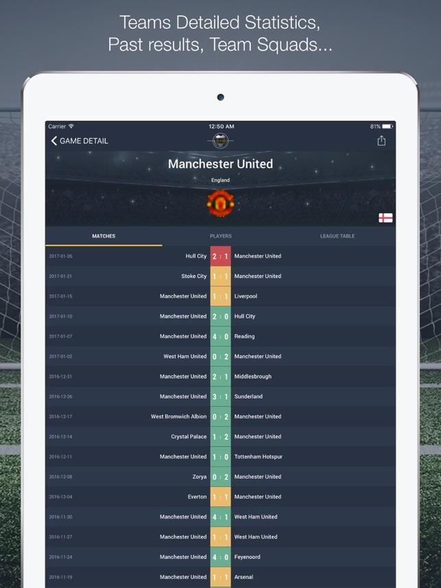 Super Live Score Screenshot