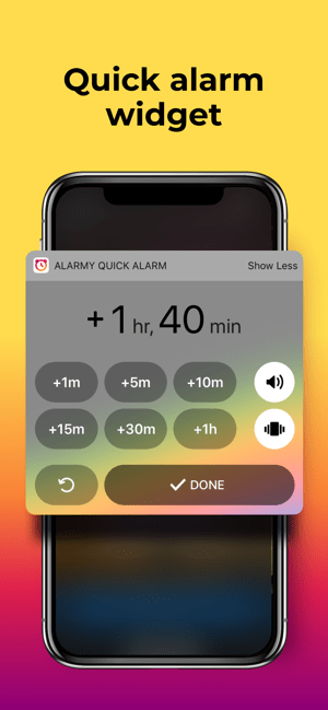 ‎Alarmy - Wake Up Alarm Clock Screenshot