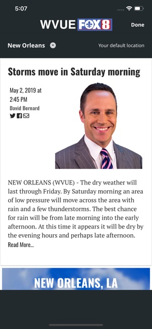 Wvue Fox 8 Weather App : weather, Mobile, Store