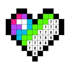 Colorea por números