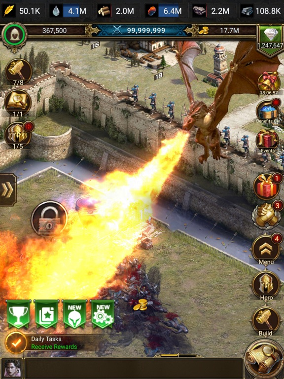 Rise Of Empires Fire And War By Long Tech Network Limited Ios