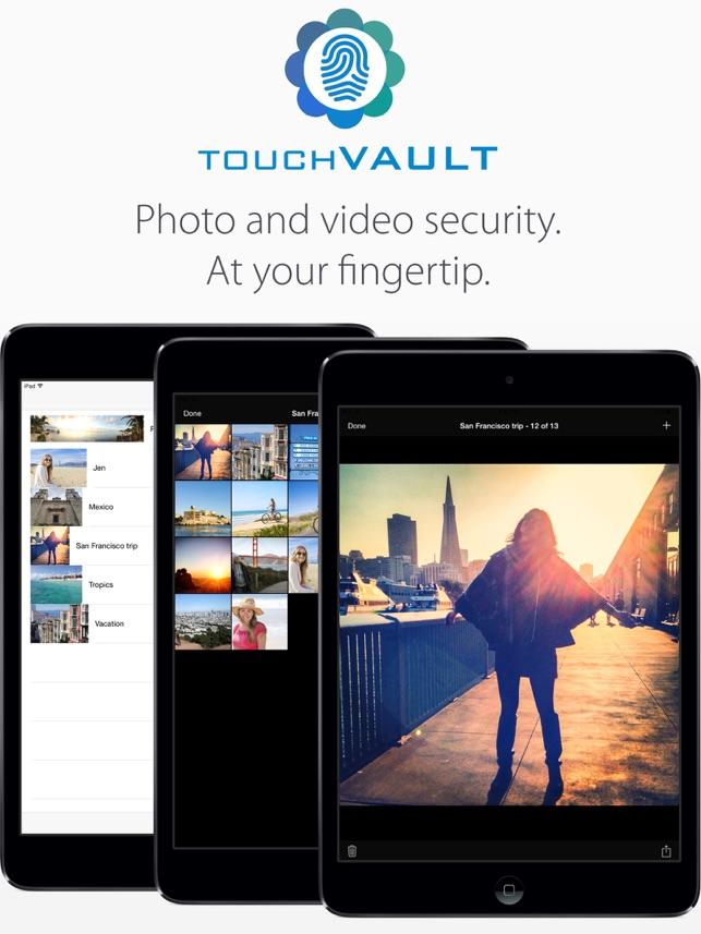 Touch Vault (photos & video) Screenshot