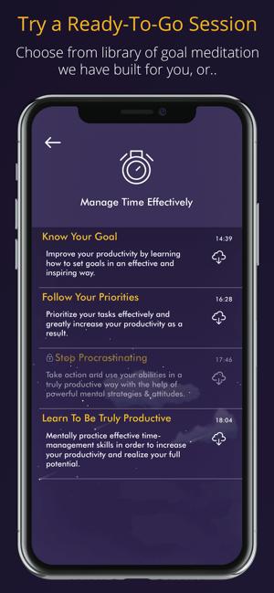 Guided Meditation - Meditable Screenshot