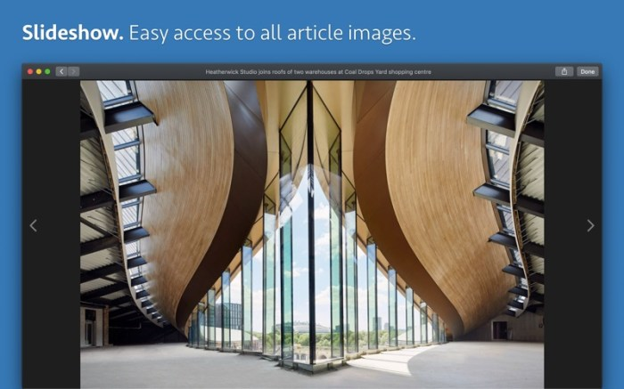 News Explorer Screenshot 08 12x8drn