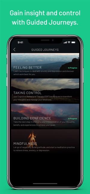 Sanvello-Stress & Anxiety Help Screenshot