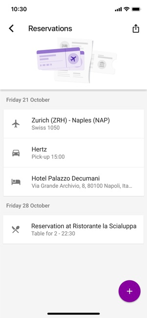 Google Trips – Plan Your Trip Screenshot