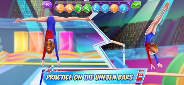 gymnastics superstar on the