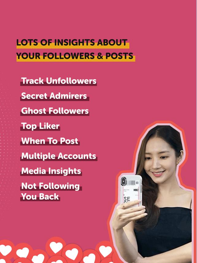 Liker Analyzer for Instagram Screenshot