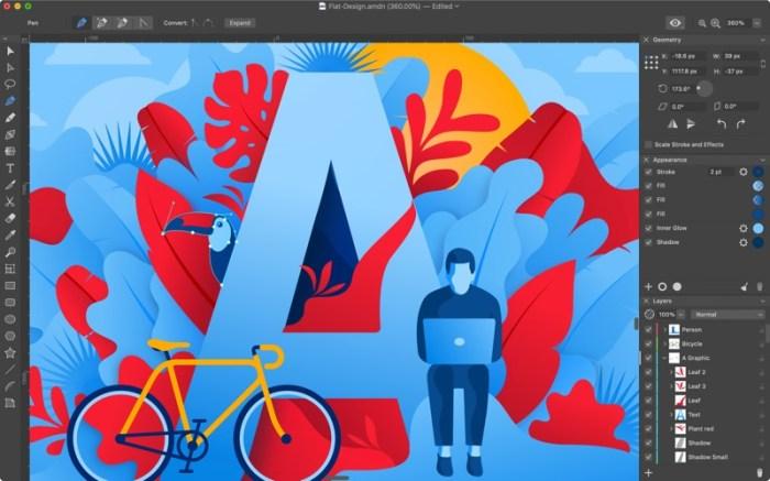 Amadine - Vector Graphics App Screenshot 02 cf188mn