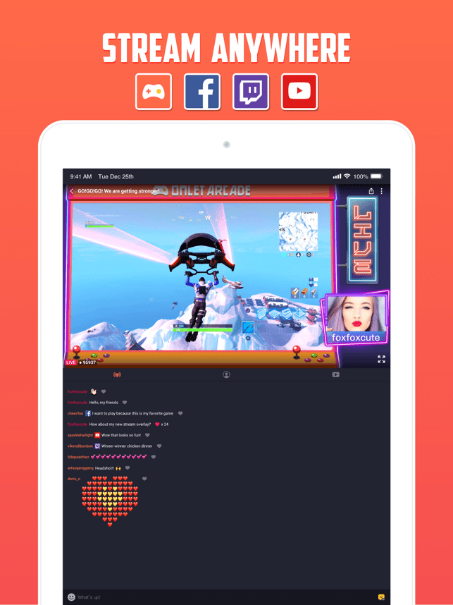 ‎Omlet Arcade: Livestream Games Screenshot