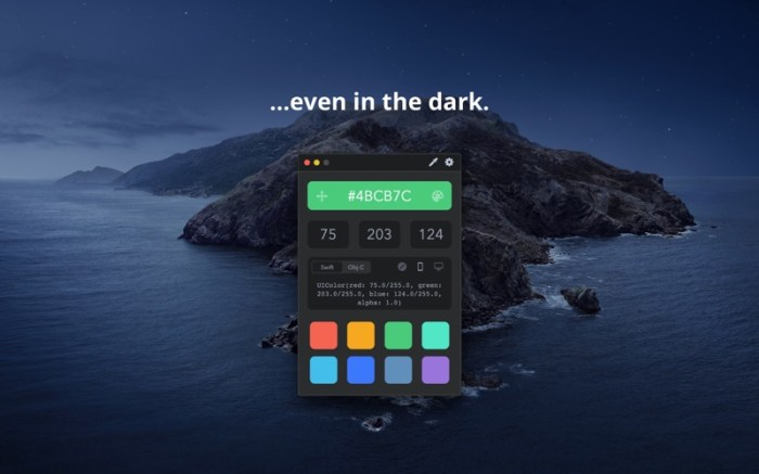 Drop - Color Picker Screenshot 02 133brun