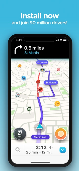 7 way navigation wiring diagram for hunter ceiling fan waze live traffic on the app store iphone ipad