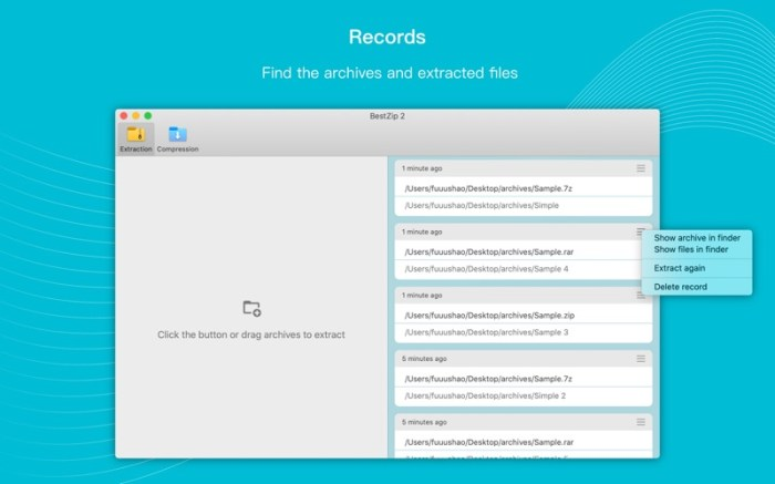BestZip 2-Unarchive 7z&rar&zip Screenshot 04 57w1x2n