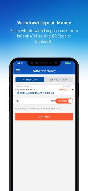 İşCep - Mobile Banking Screenshot
