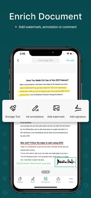 CamScanner-PDF Scanner App Screenshot
