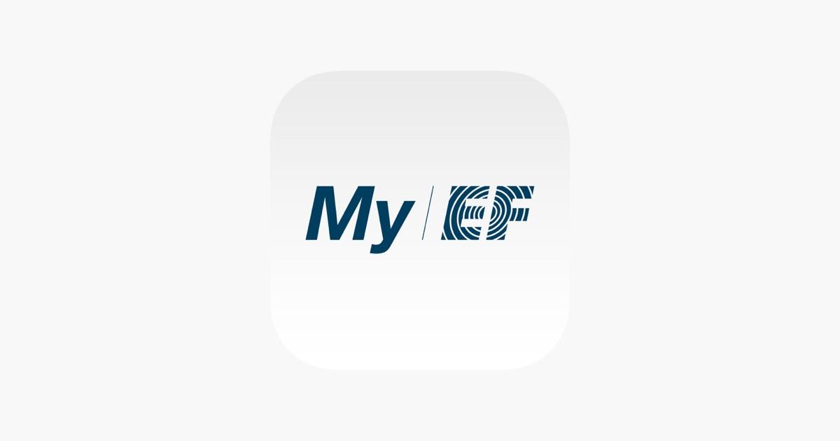 「My EF for iPhone」をApp Storeで
