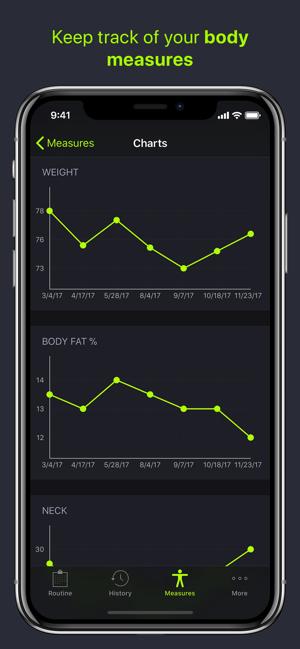 SmartGym: Gym & Home Workouts Screenshot