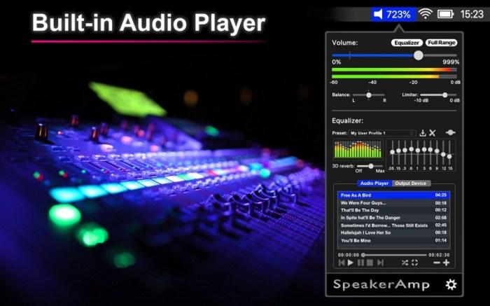 SpeakerAmp:Booster & Equalizer Screenshot 04 cf188mn