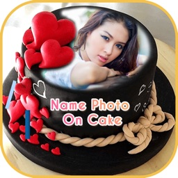 Name Photo On Cake By Gopi Chauhan