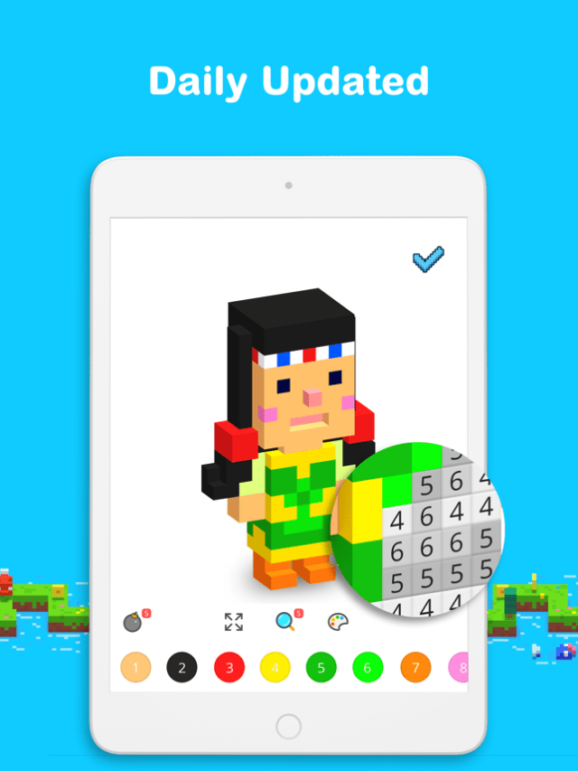 Voxel - 3D Color by Number Screenshot