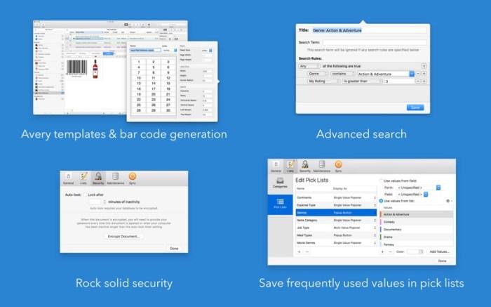 Tap Forms Organizer 5 Database Screenshot 05 57tpe1n