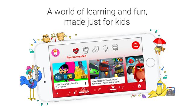 YouTube Kids Screenshot