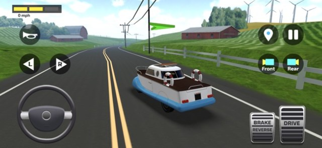High School Car Driving Test Screenshot