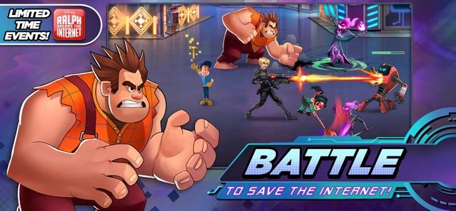 Disney Heroes: Battle Mode Screenshot