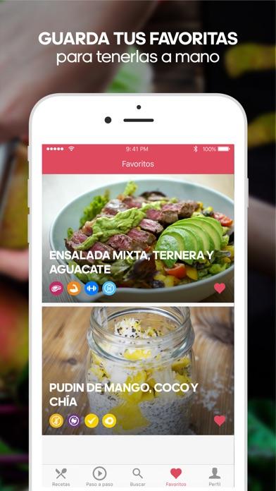Runtasty: recetas saludables Screenshot