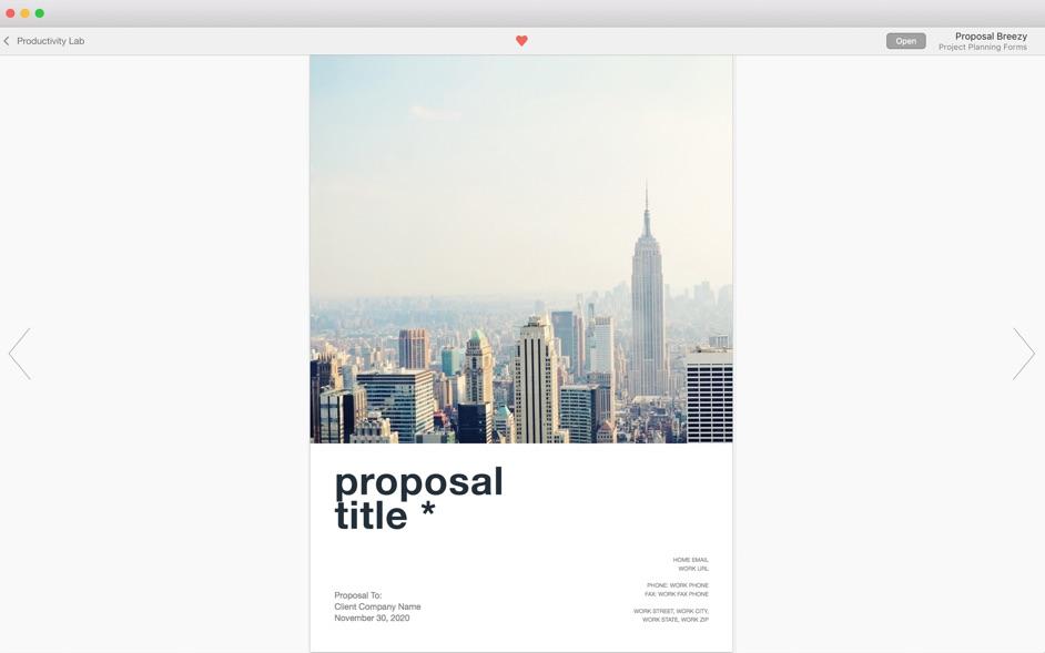 Business Print Lab - Templates 3.2.4 Mac 破解版 - 广告日历等Pages模板