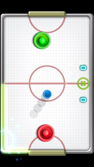 Glow Hockey 2L Screenshot