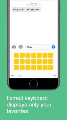 392x696bb - Fixmoji, añade los emoji que más utilices en un teclado para iPhone