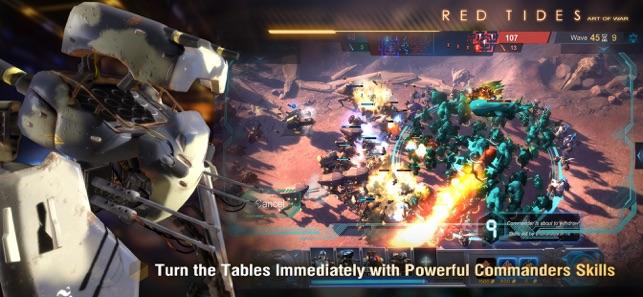 Art of War: Red Tides Screenshot