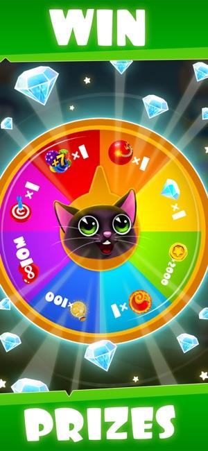 fruity cat bubble shooter