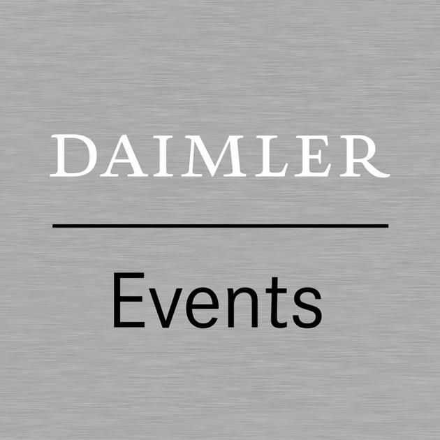 Daimler Event App on the App Store