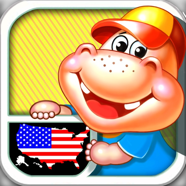 Fifty States and Capitals Learning Games Apps kids