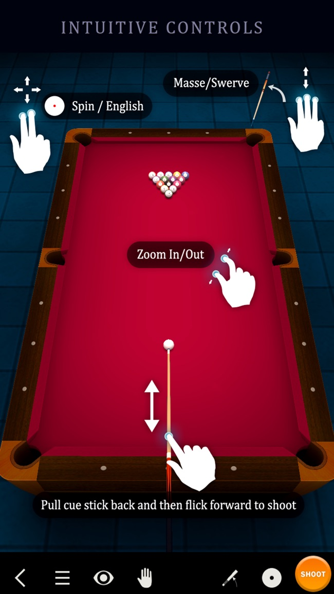 Pool Break - 3D Billiards und Snooker Screenshot