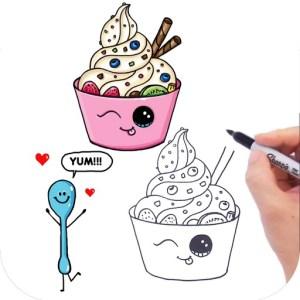 draw foods easy ipad learn way fun