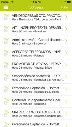 Jobeeper - Empleo, ofertas Screenshot
