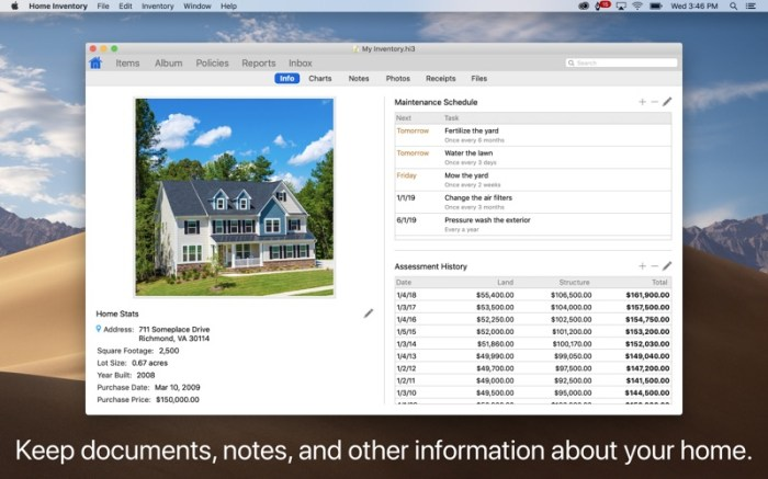 Home Inventory Screenshot 03 13btpzn