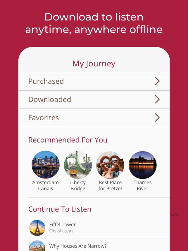 Piri - Audio Travel Guide Screenshot