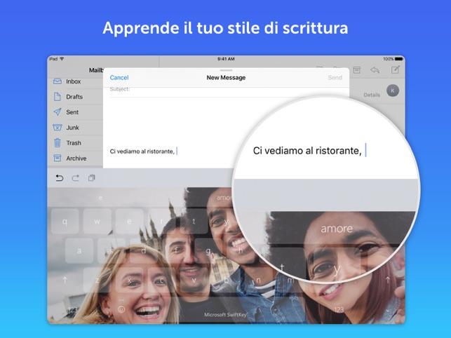 Tastiera Microsoft SwiftKey Screenshot