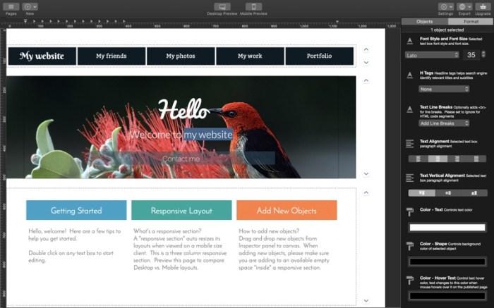 Wolf 2 - Responsive Designer Screenshot 02 cf188mn