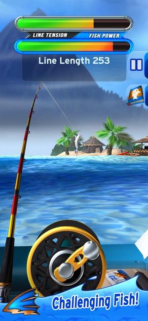 Flick Fishing Screenshot