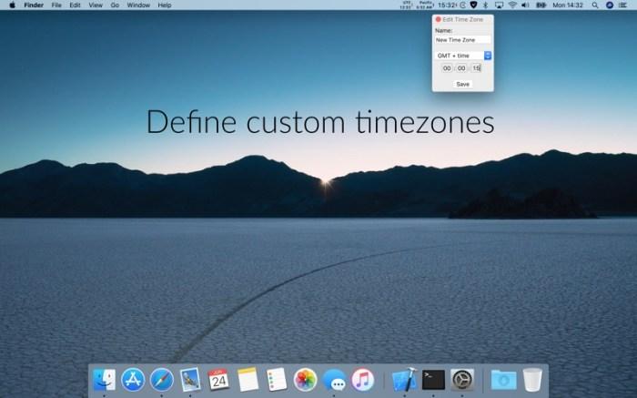 Clockey 2: menu bar clocks Screenshot 03 1erug0jy