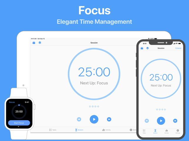 Focus - 仕事効率化タイマー Screenshot