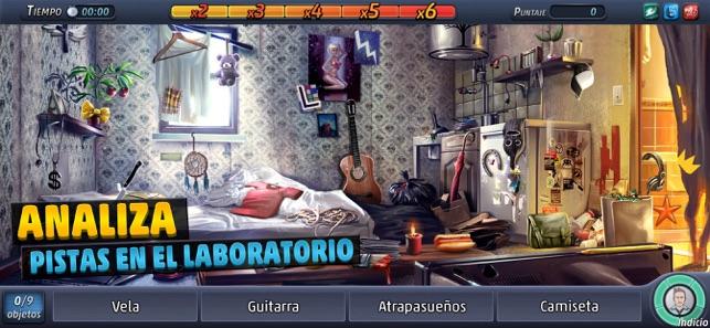 Criminal Case: Objetos Ocultos Screenshot